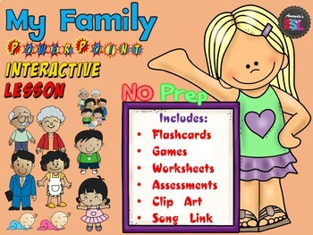 Family - No Prep PowerPoint Lesson