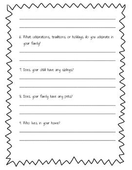 Family/ Parent/ Student Survey