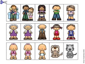 Family Pattern Cards