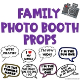 Family Photo Booth Props