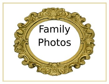 Family Photo Sign
