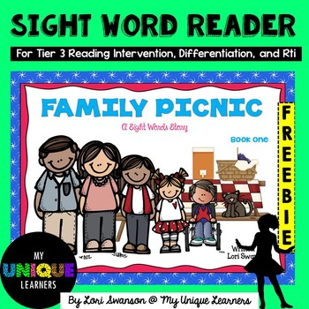 Sight Word Reader: Family Picnic