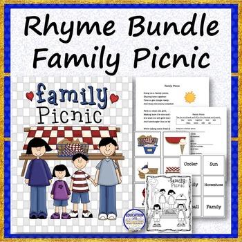 RHYME BUNDLE Family Picnic