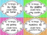 Family & Possessive Adjectives - Yo Tengo, ¿Quién Tiene? (