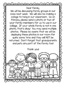 Family Preschool Lesson and Activities