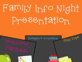 Curriculum Night Presentation Pack