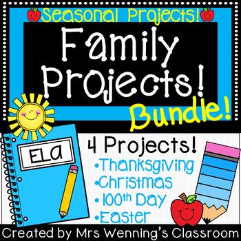 Family Project Bundle!