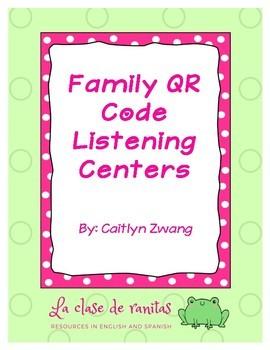 Family QR Code Listening Centers