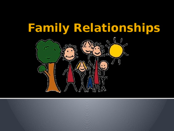 Family Relationships Powerpoint