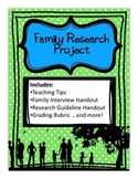Family Research Project