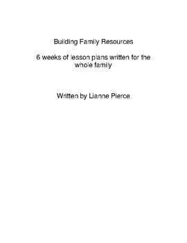 Family Resources Introduction