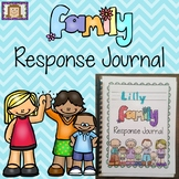 Family Response Jounral