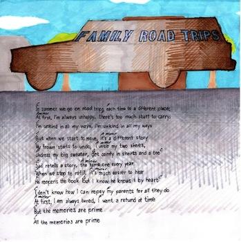 Family Road Trip: 1st-2nd Grade Lesson Plan Bundle