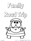 Family Road Trip Activity Book