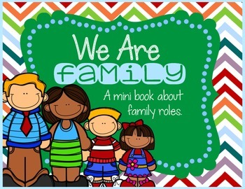 Family Roles Mini Book