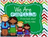 Family Roles Mini Book