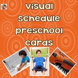 Visual Schedule Preschool Cards