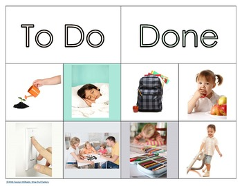 Visual Schedule Preschool Cards By Wise Owl Factory Tpt