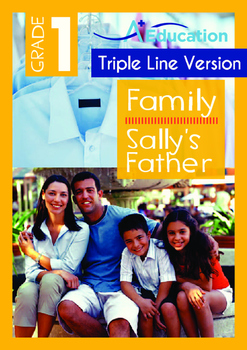 Family - Sally's Father - Grade 1 (with 'Triple-Track Writ