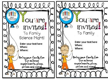 Editable Invitations Worksheets Teaching Resources