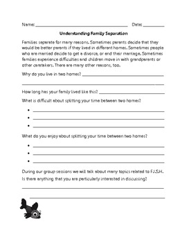 Family Separation Group Counseling Program