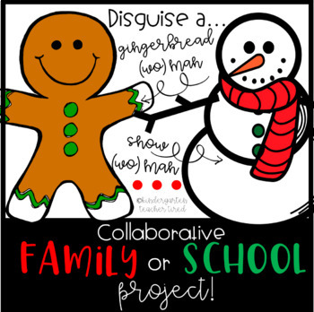 Family Snowman / Gingerbread Man Project