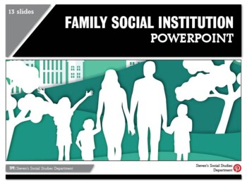 Family Social Institution PPT