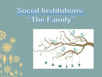 Family Social Institution PPT