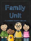 Family Social Studies Unit