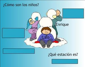 Family Spanish SMART Board Lesson