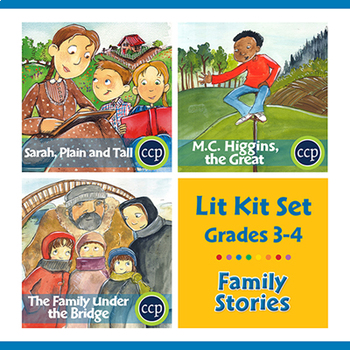 Family Stories Lit Kit Set - BUNDLE Gr. 3-4