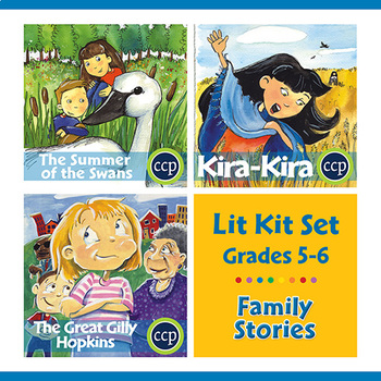 Family Stories Lit Kit Set - BUNDLE Gr. 5-6