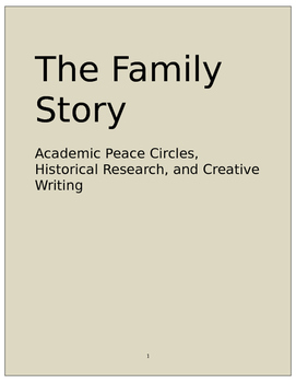restorative practices peace circles family history creative writing