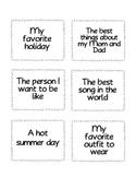 Family Storytelling Cards