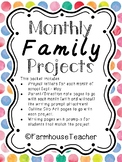 Family Take Home Projects-Monthly