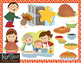 Family Thanksgiving Clip-Art