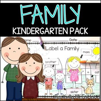 Family Theme Math & Literacy Activities
