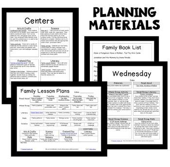 Family Theme Preschool Lesson Plans