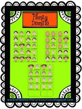 Family Theme for Elementary ELL