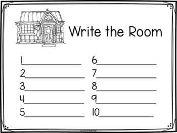 Write the Room: Family
