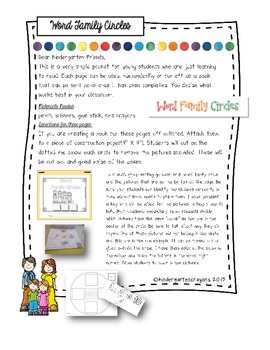 Family Ties: With Word Family Fun
