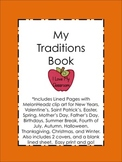 Family Traditions Book {Student Created}