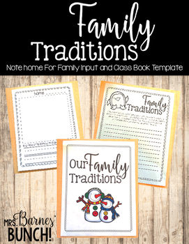 Family Traditions Class Book #HollyJollyDeals