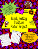 Family Traditions Poster Project- Rubric and Traditional Scoring Scale