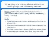Family Traits Narrative Writing Unit