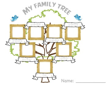 Family Tree Worksheets & Teaching Resources | Teachers Pay Teachers