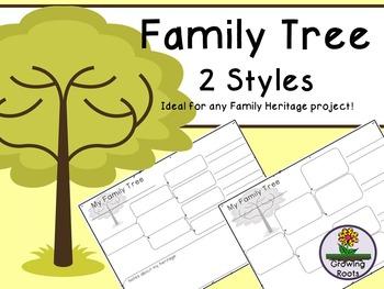 Family Tree - 2 versions