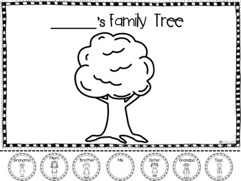 Family Tree Activities