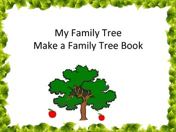 family tree all about my grandparents parents make a book tpt