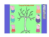 Family Tree Flip Chart (Peppa Pig)